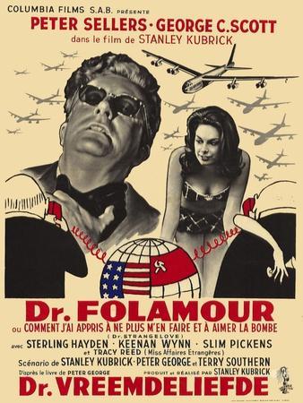 Dr. Strangelove, Belgian Movie Poster, 1964