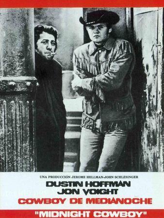 Midnight Cowboy, Spanish Movie Poster, 1969