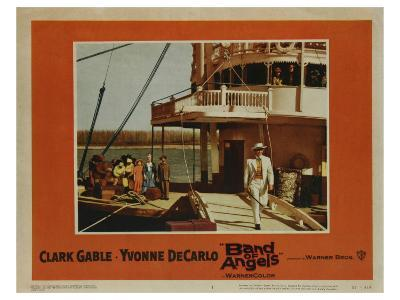 Band of Angels, 1957