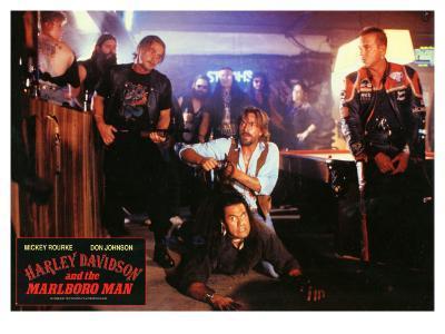 Harley Davidson and the Marlboro Man, German Movie Poster, 1991