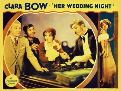 It's Her Wedding Night, 1930