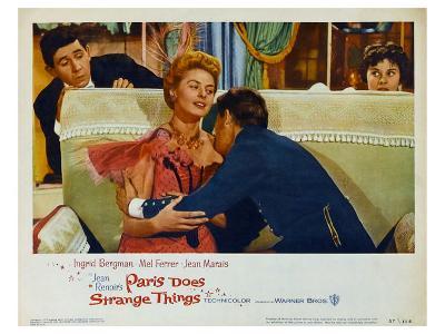 Paris Does Strange Things, 1956