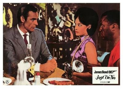 Dr. No, German Movie Poster, 1962