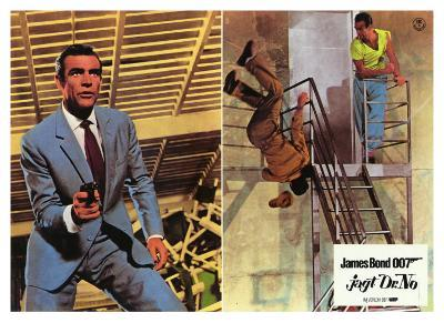 Dr. No, German Movie Poster, 1962
