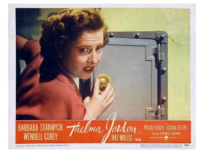 The File on Thelma Jordon, 1950