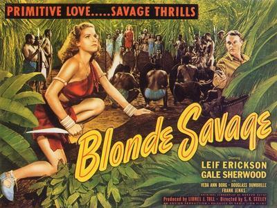 Blonde Savage, 1947