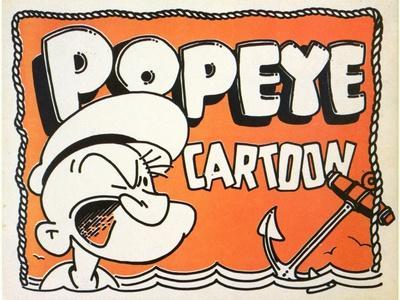 Popeye Cartoon, 1937