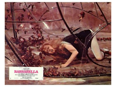 Barbarella, French Movie Poster, 1967