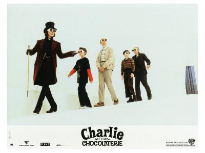 Charlie and the Chocolate Factory, French Movie Poster, 2005