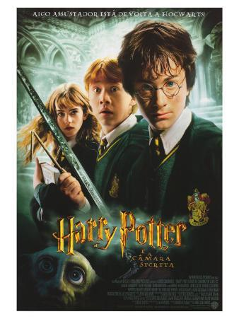 Harry Potter and the Chamber of Secrets, Brazilian Movie Poster, 2002