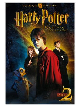 Harry Potter and the Chamber of Secrets, German Movie Poster, 2002