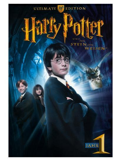 Harry Potter And The Sorcerers Stone German Movie Poster 2001