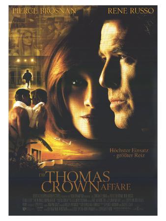 The Thomas Crown Affair, German Movie Poster, 1999