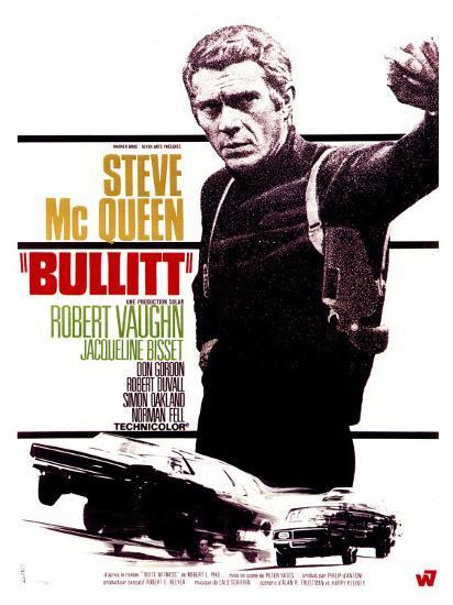 Bullitt, French Movie Poster, 1968' Poster | AllPosters.com