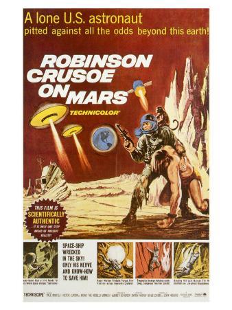 Robinson Crusoe on Mars, 1964