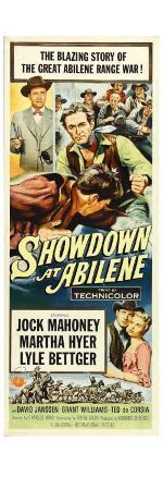 Showdown at Abilene, 1956