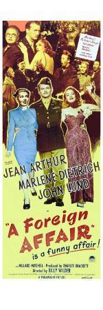 A Foreign Affair, 1948