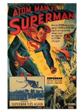 Atom Man Vs. Superman, 1948
