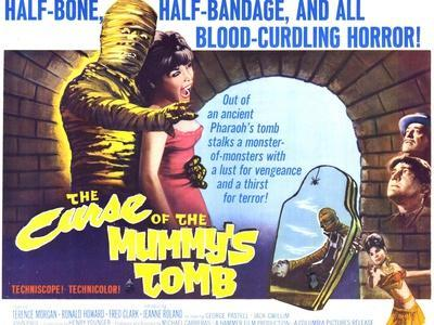 The Curse of the Mummy's Tomb, 1964