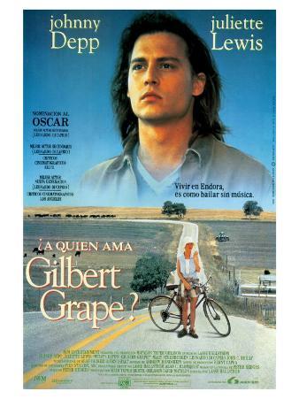 What's Eating Gilbert Grape, Spanish Movie Poster, 1993