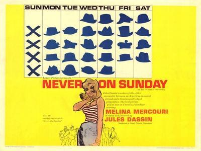Never on Sunday, 1960