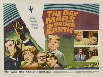 The Day Mars Invaded Earth, UK Movie Poster, 1962