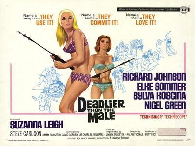 Deadlier Than the Male, 1967
