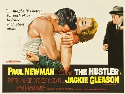 The Hustler, UK Movie Poster, 1961