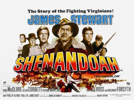Shenandoah Uk Movie Poster 1965 Prints At Allposters Com
