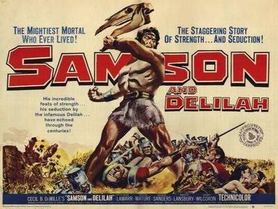 Samson and Delilah, 1959