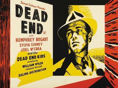 Dead End, UK Movie Poster, 1937