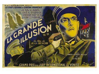Grande Illusion, French Movie Poster, 1937