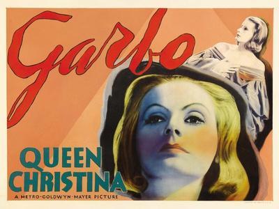 Queen Christina, UK Movie Poster, 1933