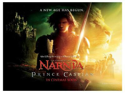 The Chronicles of Narnia: Prince Caspian, UK Movie Poster, 2008