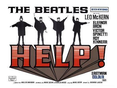Help!, UK Movie Poster, 1965