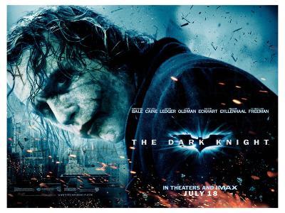 The Dark Knight, UK Movie Poster, 2008