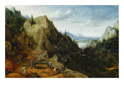Landscape with Iron Mines