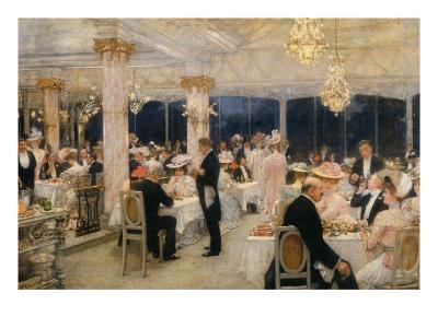 Soiree of the Grand Prix at Armenonville, 1905