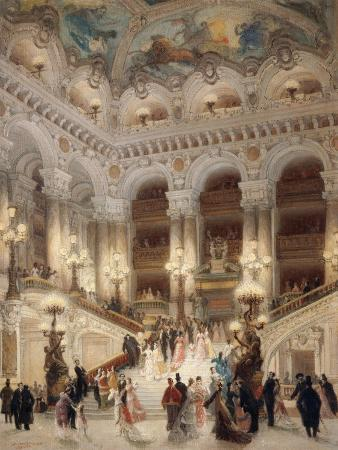 The Staircase of the New Opera of Paris