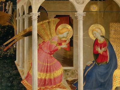 Cortona Altarpiece with the Annunciation