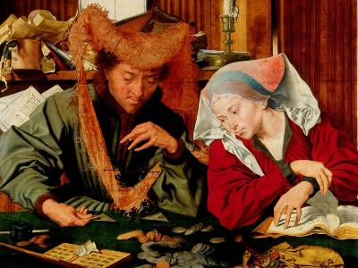 A Moneychanger and His Wife