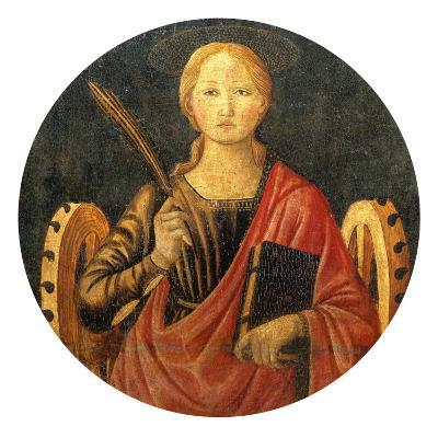 Altar Frontal with Saint Catherine of Alexandria