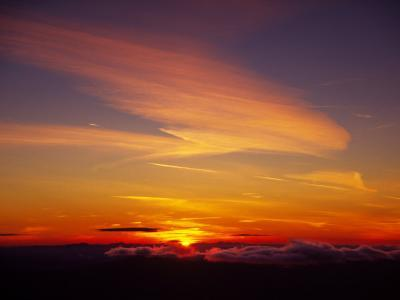Sunset Near Taos, New Mexico, USA
