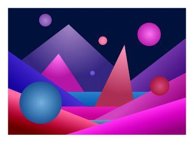 Layers of Geometric Forms