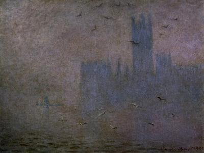 Houses of Parliament, Seagulls 1904