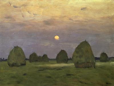 Haystacks Twilight, 1899
