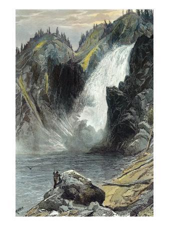 The Upper Yellowstone Falls