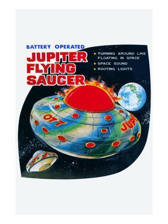 Jupiter Flying Saucer