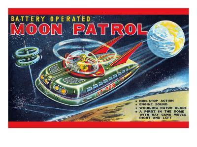 Battery Operated Moon Patrol XT-978