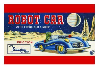 Robot Car with Firing Gun and Noise